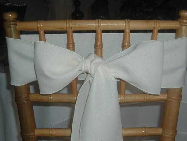 Where to find CHAIR SASHES IVORY in
