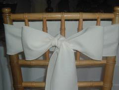 Rental store for CHAIR SASHES IVORY in  NJ