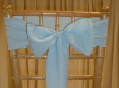 Rental store for CHAIR SASHES BLUES in  NJ